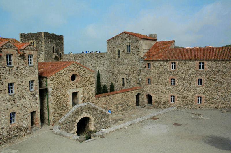 Castle collioure - Chateau de collioure ...