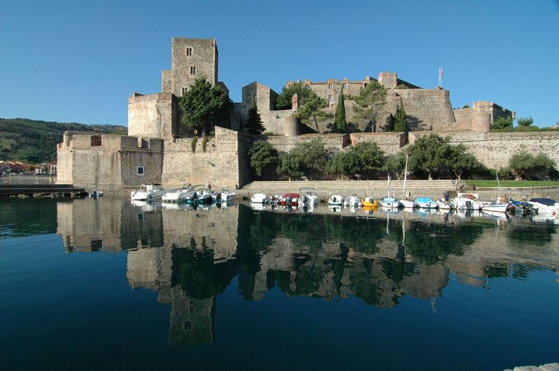 Collioure le chateau royal - Chateau de collioure ...
